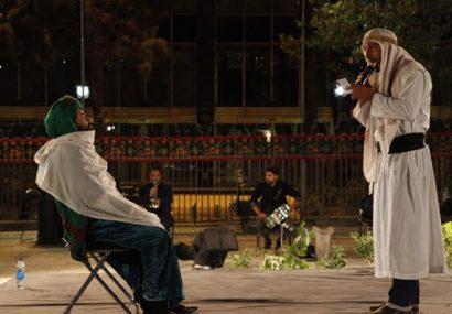 تعزیه «عمرو بن عبدود» مقابل تالار وحدت اجرا میشود