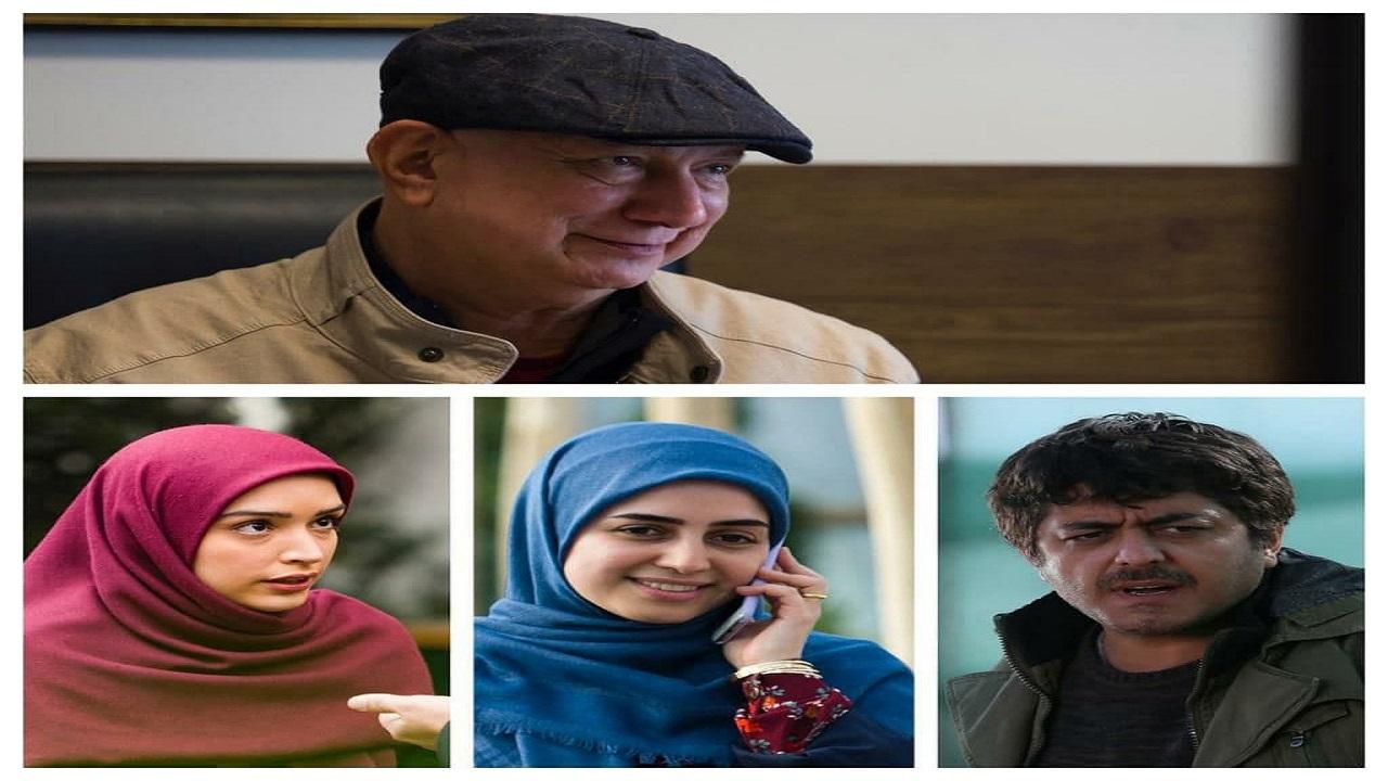 آتیلا پسیانی مقابل دوربین سریال نوروزی شبکه دو رفت